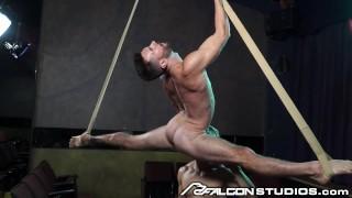 FalconStudios – Alam Wernik Hung Up & Manhandled On Sex Swing
