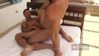 Muscle Jocks Jessy Ares and Adam Killian Fuck Ass